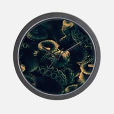 Tentacles Wall Clock