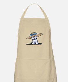 bichon in Apron