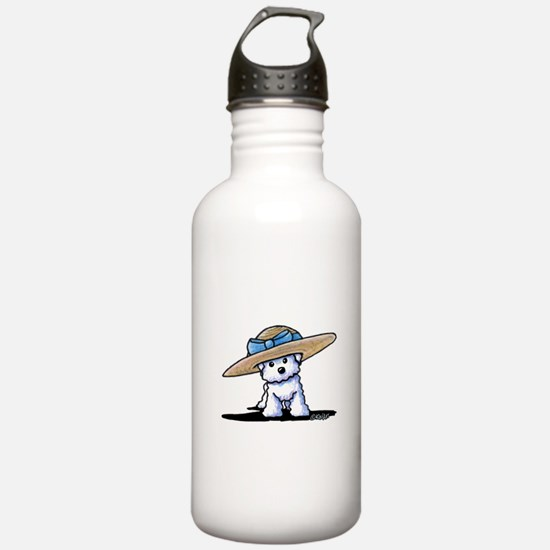 bichon in Water Bottle