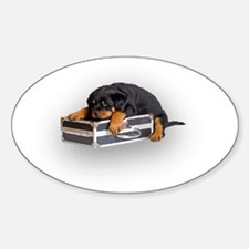 Puppy Suitcase Decal