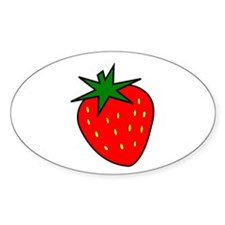 Cute Strawberry Decal