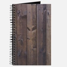 Hickory brown country barn wood Journal