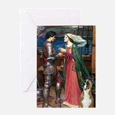 Knight & Boxer Greeting Card