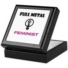 Full Metal Feminist Keepsake Box