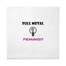 Full Metal Feminist Queen Duvet