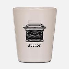 Author Shot Glass