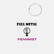 Full Metal Feminist Keychains