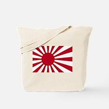 Naval Ensign of Japan - Japanese Rising S Tote Bag