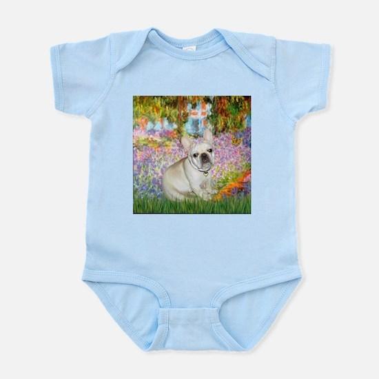 Monet's Garden & French Bulld Infant Creeper