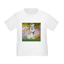 Monet's Garden & French Bulld T