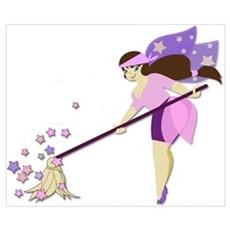 Fairy housekeeper Poster