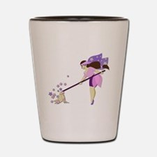 Fairy housekeeper Shot Glass
