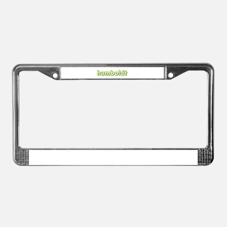 humboldt vagabond.png License Plate Frame