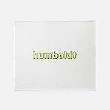humboldt vagabond.png Throw Blanket