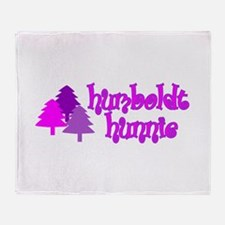 humboldt hunnie.png Throw Blanket