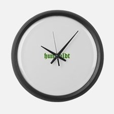 humboldt cloister green.png Large Wall Clock
