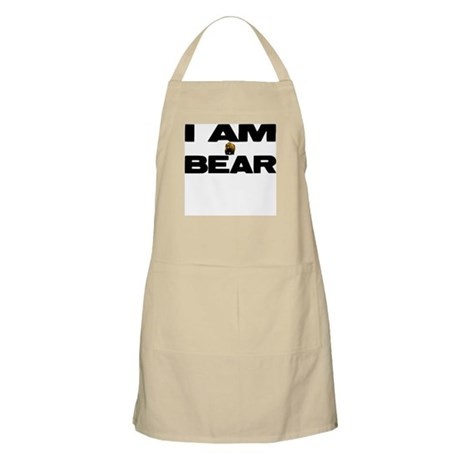 I AM BEAR BBQ Apron