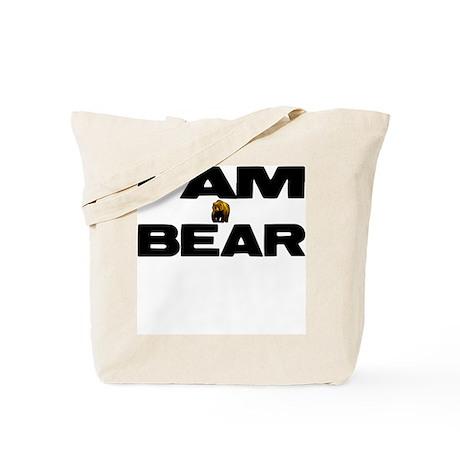 I AM BEAR Tote Bag