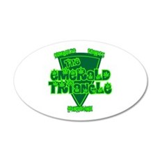 emerald triangle.png Wall Decal