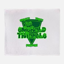 emerald triangle.png Throw Blanket