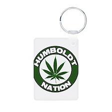 humboldt pot nation.png Keychains