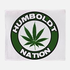 humboldt pot nation.png Throw Blanket