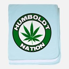 humboldt pot nation.png baby blanket