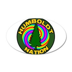 humboldt psychadelic nation.png Wall Decal