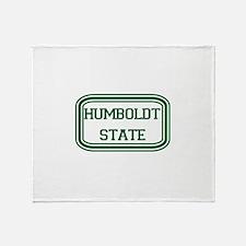 HSU.png Throw Blanket