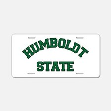 HUMBOLDT STATE.png Aluminum License Plate