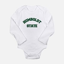 HUMBOLDT STATE.png Long Sleeve Infant Bodysuit