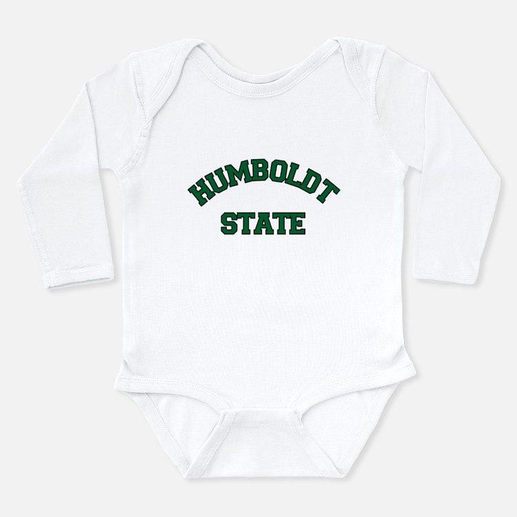 HUMBOLDT STATE.png Long Sleeve Infant Bodysuit
