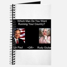 Cute Ron paul 08 Journal