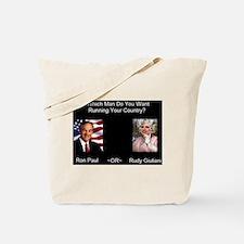 Funny Rudy 2008 Tote Bag