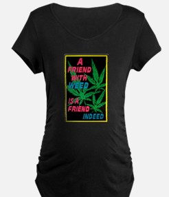 friend w weed.png T-Shirt