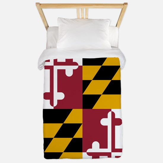 Maryland State Flag Twin Duvet