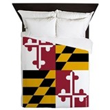 Maryland state flag Duvet Covers