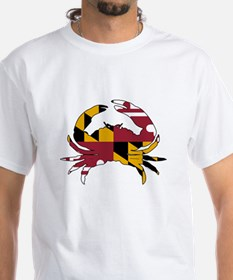 Maryland State Flag Crab Shirt