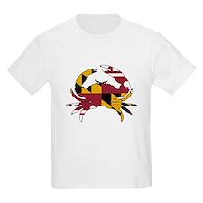 Maryland State Flag Crab T-Shirt
