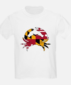 Maryland State Flag Crab T-Shirt