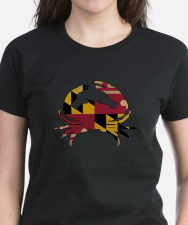 Maryland State Flag Crab Tee
