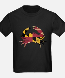 Maryland State Flag Crab T