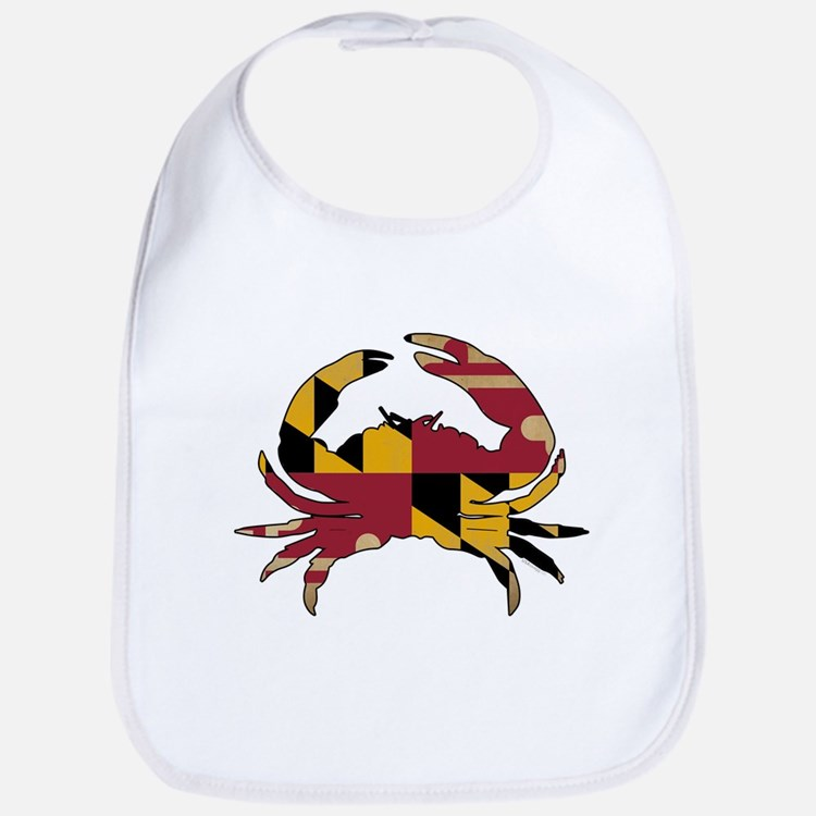 Maryland State Flag Crab Bib