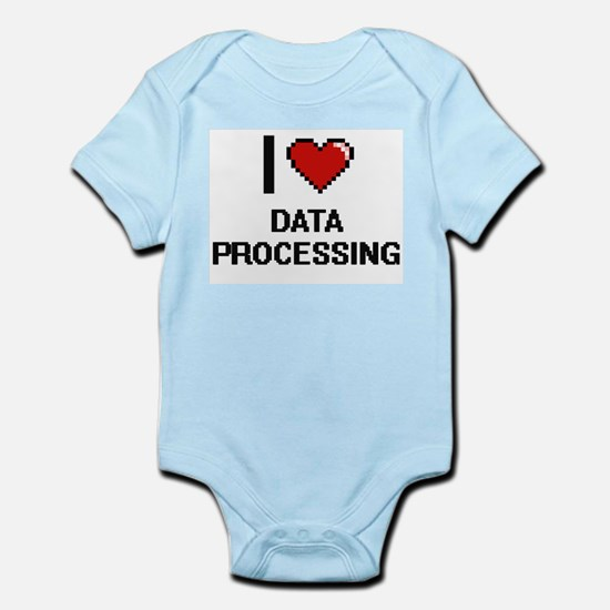 I love Data Processing Body Suit
