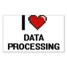 I love Data Processing Decal