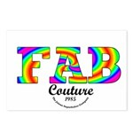 Fab Couture (Brand) Postcards (Package of 8)