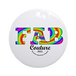 Fab Couture (Brand) Ornament (Round)