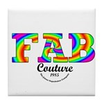 Fab Couture (Brand) Tile Coaster