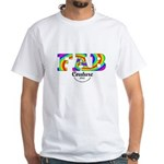 Fab Couture (Brand) White T-Shirt