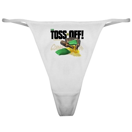 Toss Off! Classic Thong